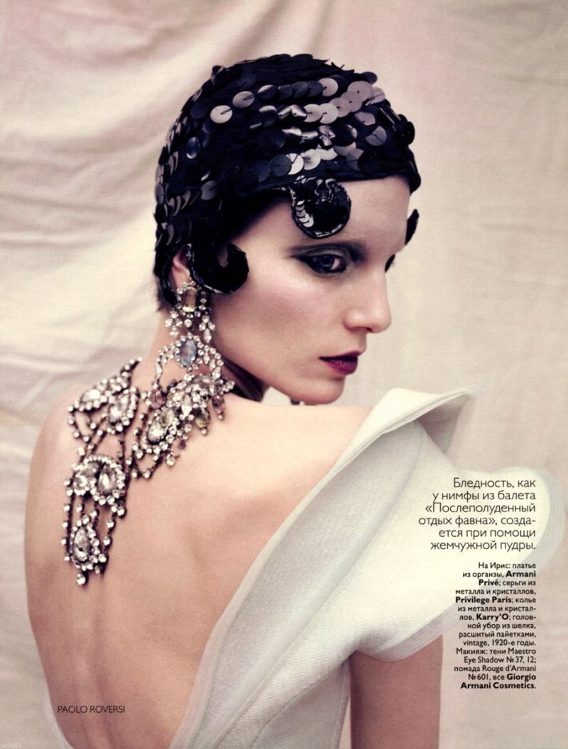 Iris Strubegger & Heidi Mount by Paolo Roversi | Vogue Russia May 2010
