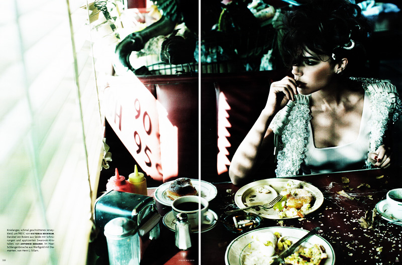 Victoria Beckham by Alexi Lubomirski | Vogue Germany May 2010