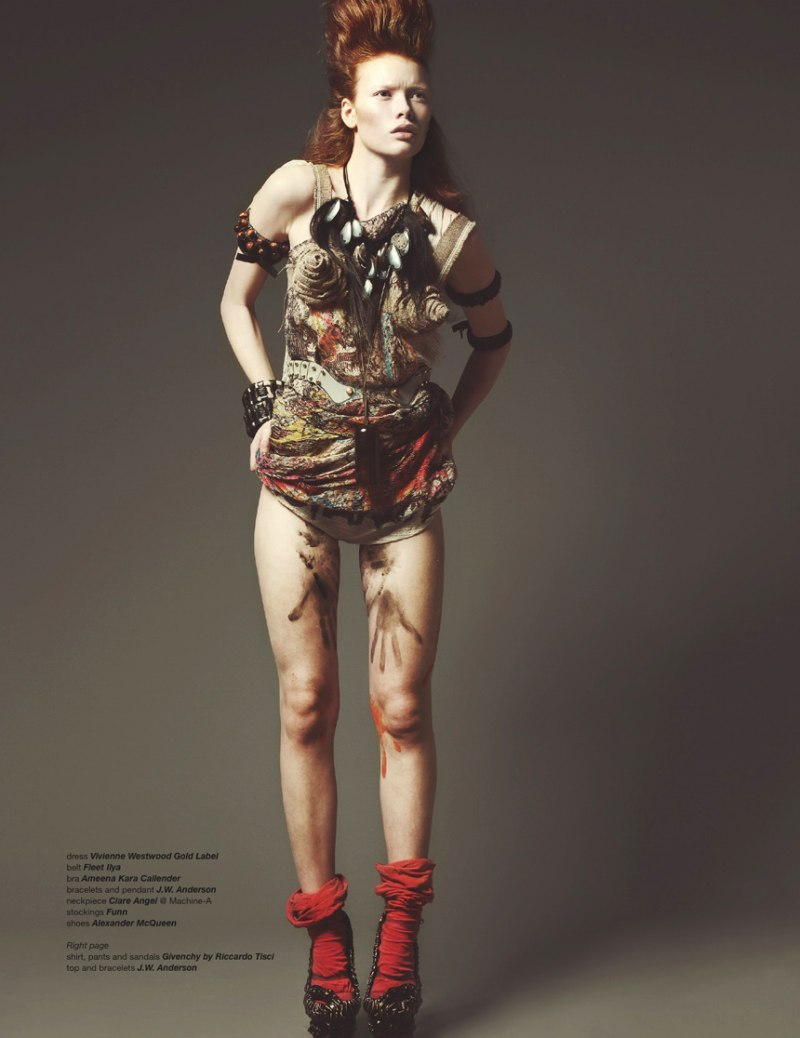 Julia Hafstrom by Dancian in Savagery   Zoo Magazine