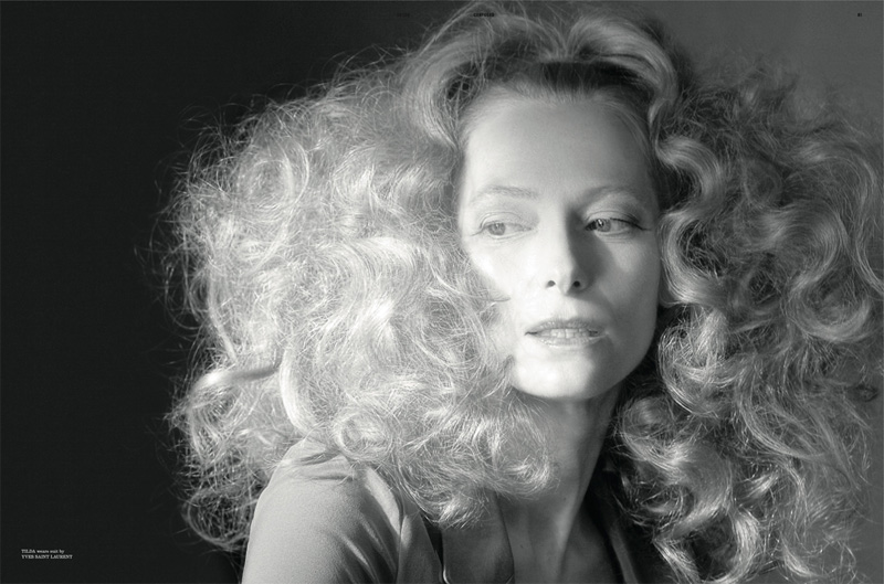 Tilda Swinton by Glen Luchford | Dazed & Confused May 2010