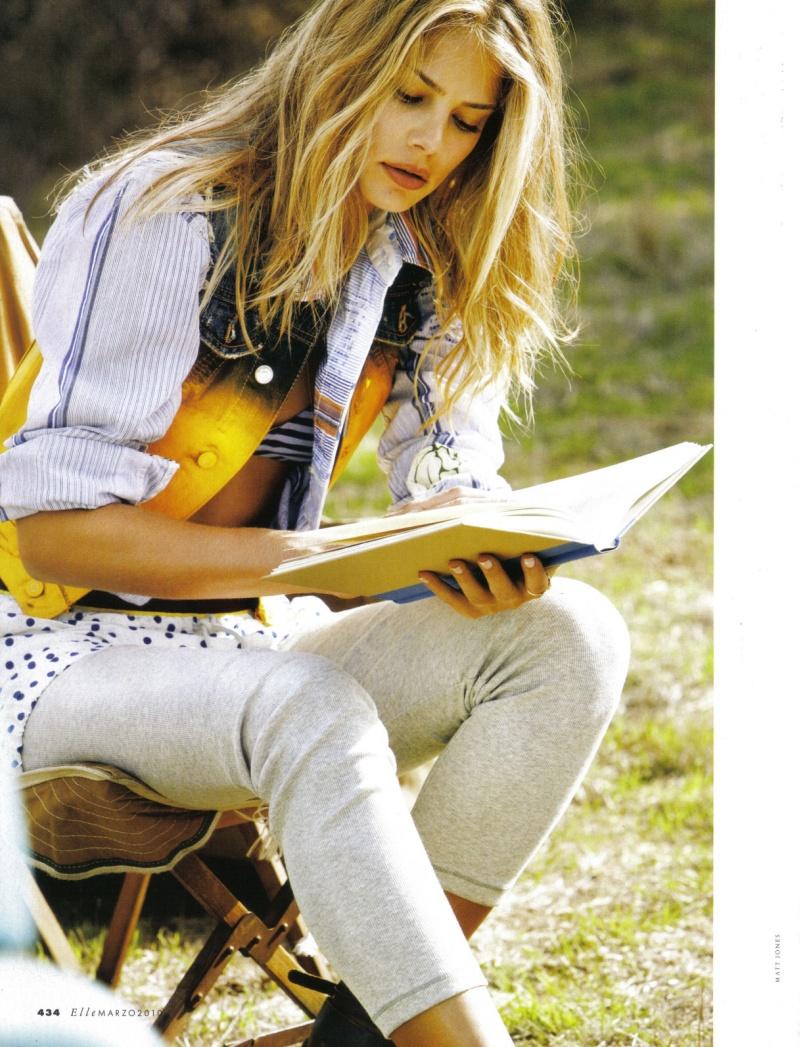 Tori Praver by Matt Jones | Elle Italia March 2010