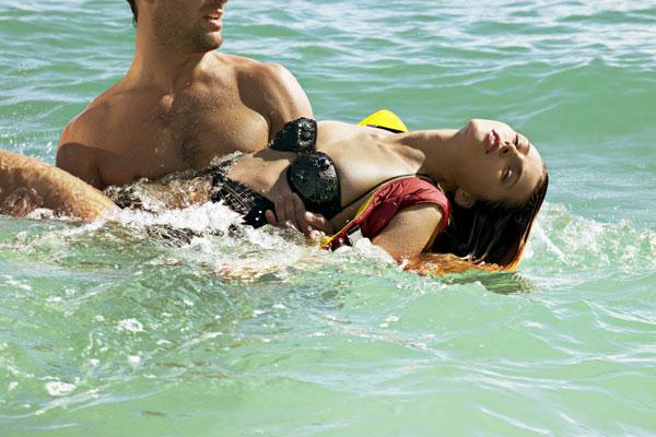 Valentina Zelyaeva by Azim Haidaryan in Bond Girl in Love | Velvet May 2010