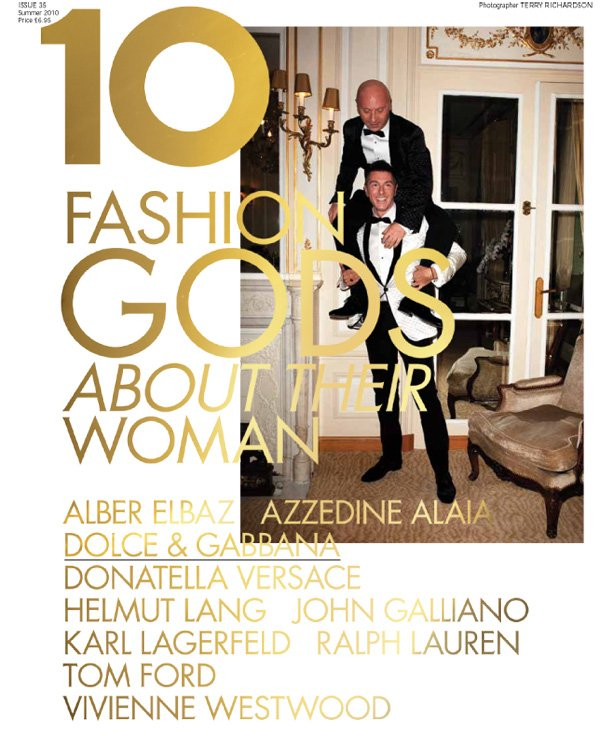 10 Summer 2010 | 10 Years, 10 Covers, 10 Fashion Gods