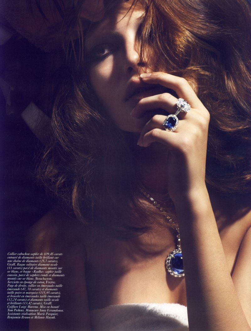 Morning Beauty | Catherine McNeil by Mario Sorrenti