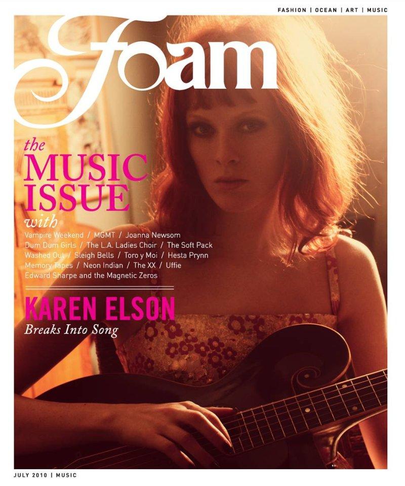 Karen Elson by Guy Aroch in Walk the Line | Foam Magazine July 2010