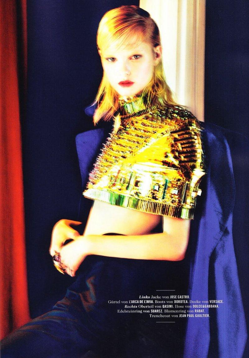 Hannah Holman by Txema Yeste for Tush Spring 2010
