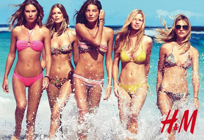 Znalezione obrazy dla zapytania h&m swimsuit ad