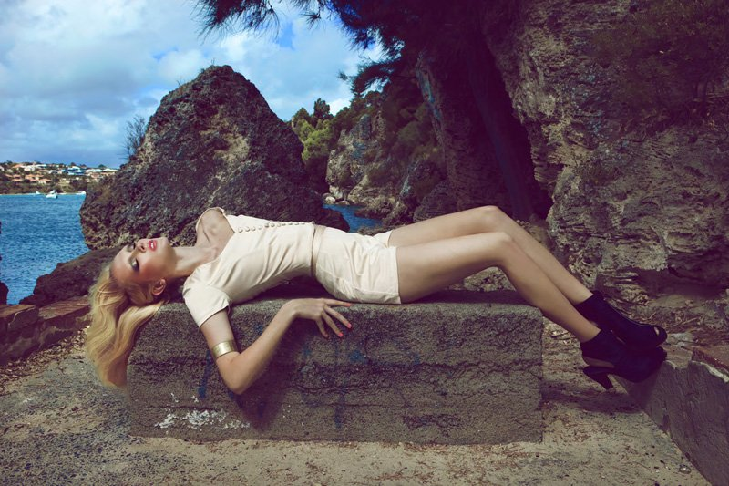 Caitlin Lomax by Justin Smith for Illionaire Spring 2010/11 Campaign
