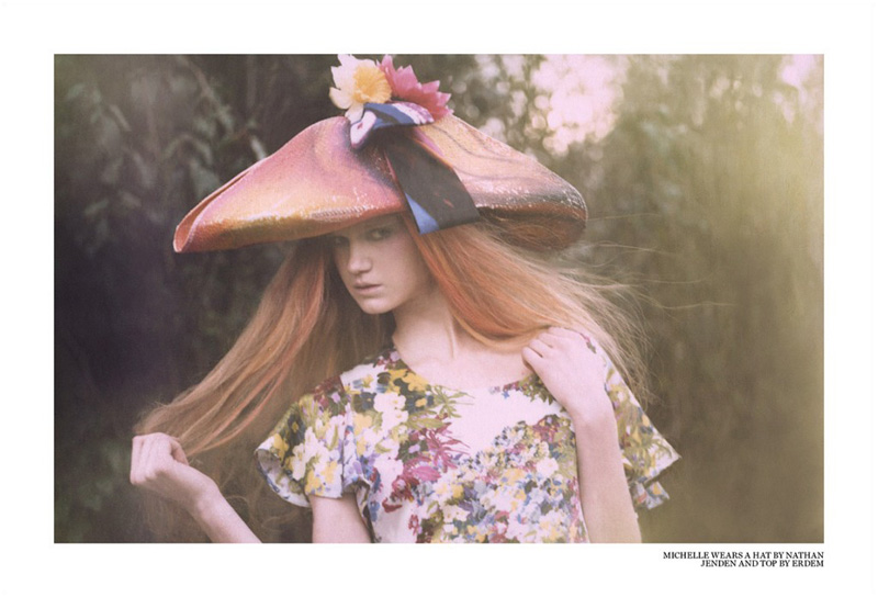 In Bloom by Chiara Romagnoli for TEST Magazine