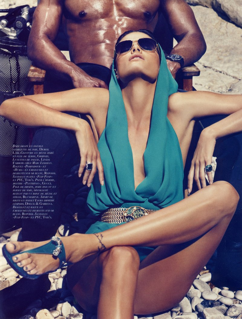 Isabeli Fontana for Vogue Paris June/July 2010 by Mikael Jansson