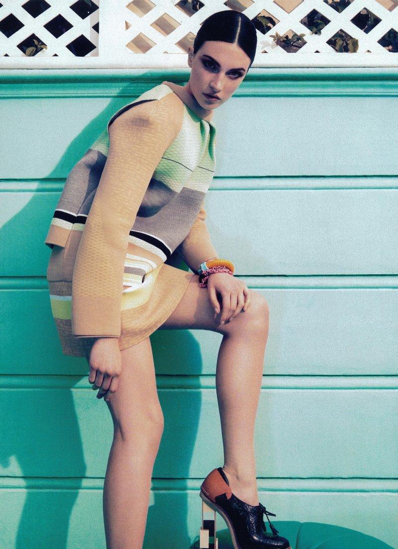 Jacquelyn Jablonski by Camilla Akrans for Harper's Bazaar US June/July 2010