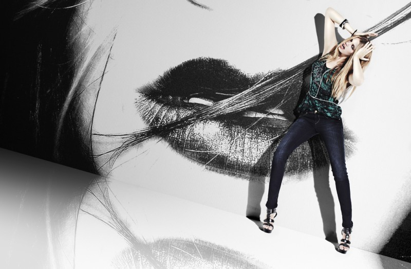 Hailey Clauson by David Roemer | Jag Jeans 2010 Campaign