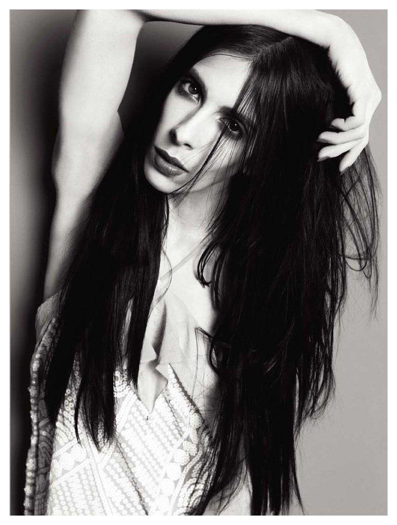 Jamie Bochert by Inez & Vinoodh in Body Electric for V Magazine #65