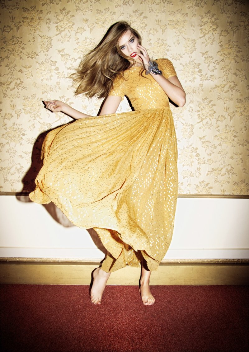 Janeta Samp by Kate Bellm for Style and the Family Tunes Summer 2010