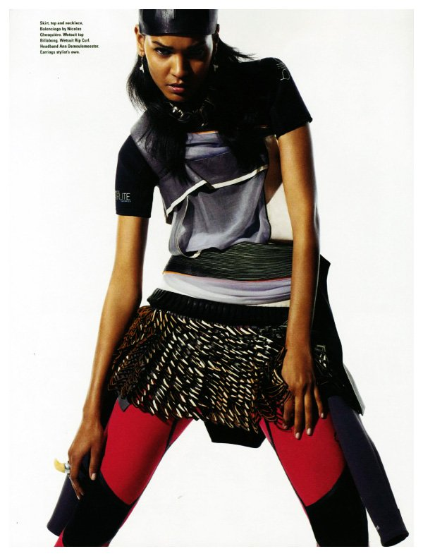Liya Kebede by Amy Troost for i-D Summer 2010