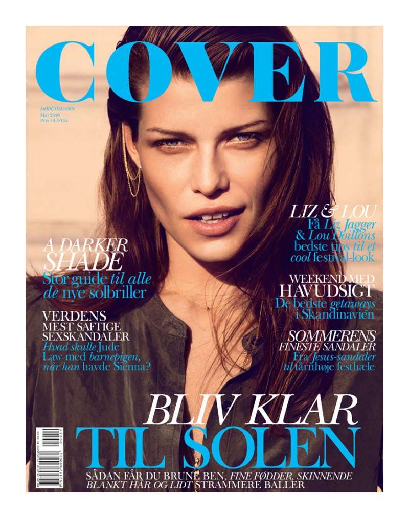 Louise Pedersen for Cover Magazine May 2010 by Rick Shaine