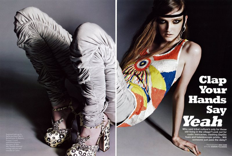 Maddie Welch by Wee Khim for Style June 2010