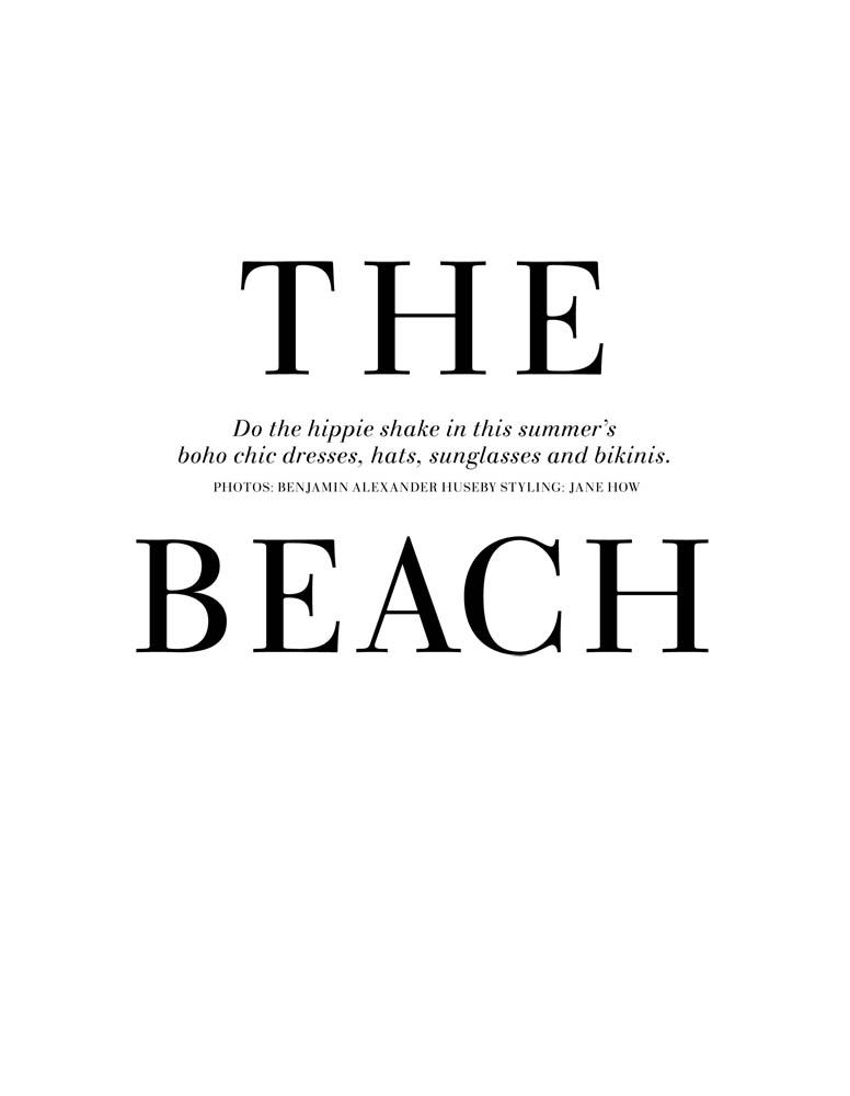 Lindsay Ellingson & Skye Stracke by Benjamin Alexander Huseby for H&M Magazine Summer 2010