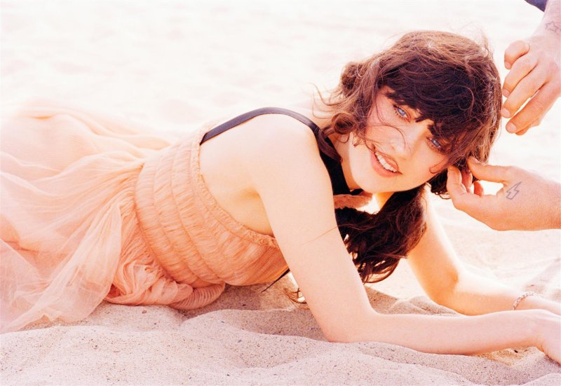 Morning Beauty | Zooey Deschanel by Ellen von Unwerth