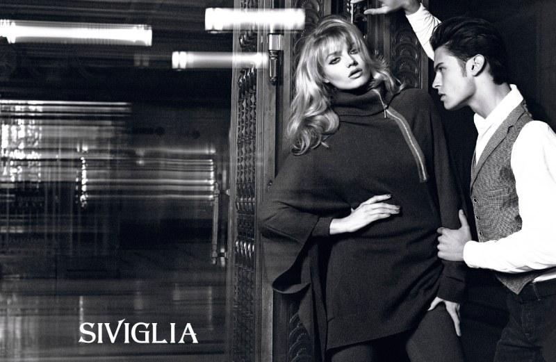 Anna Jagodzinska for Siviglia Fall 2010 by Mert & Marcus