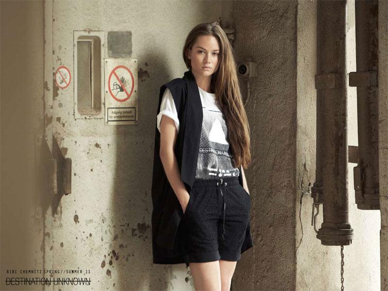 Bibi Chemnitz Spring 2011 Campaign | Maria Mikkelsen by Hordur Ingason