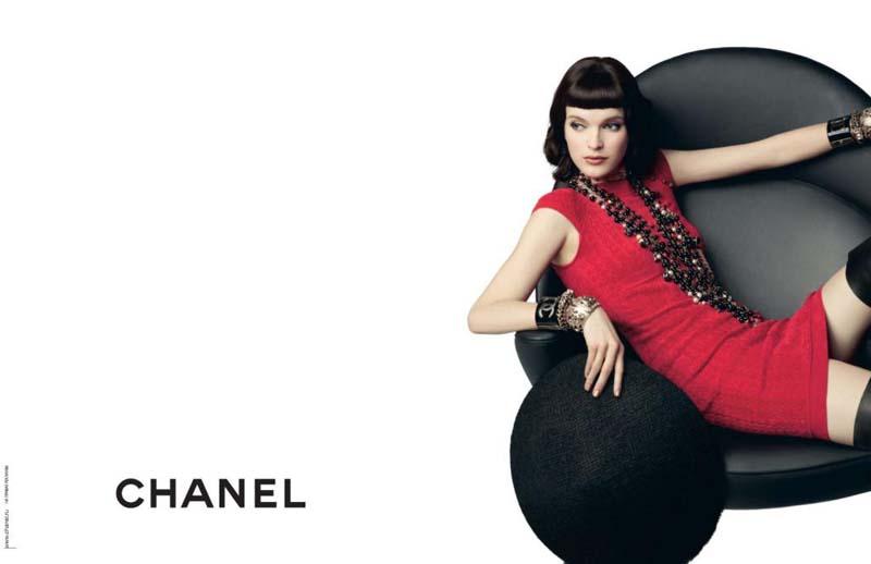 Chanel Pre-Fall 2010 Campaign   Mirte Maas by Karl Lagerfeld