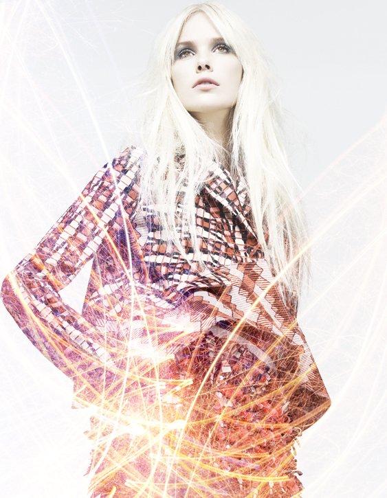 Dewi Driegen by Lee Broomfield for Elle Croatia