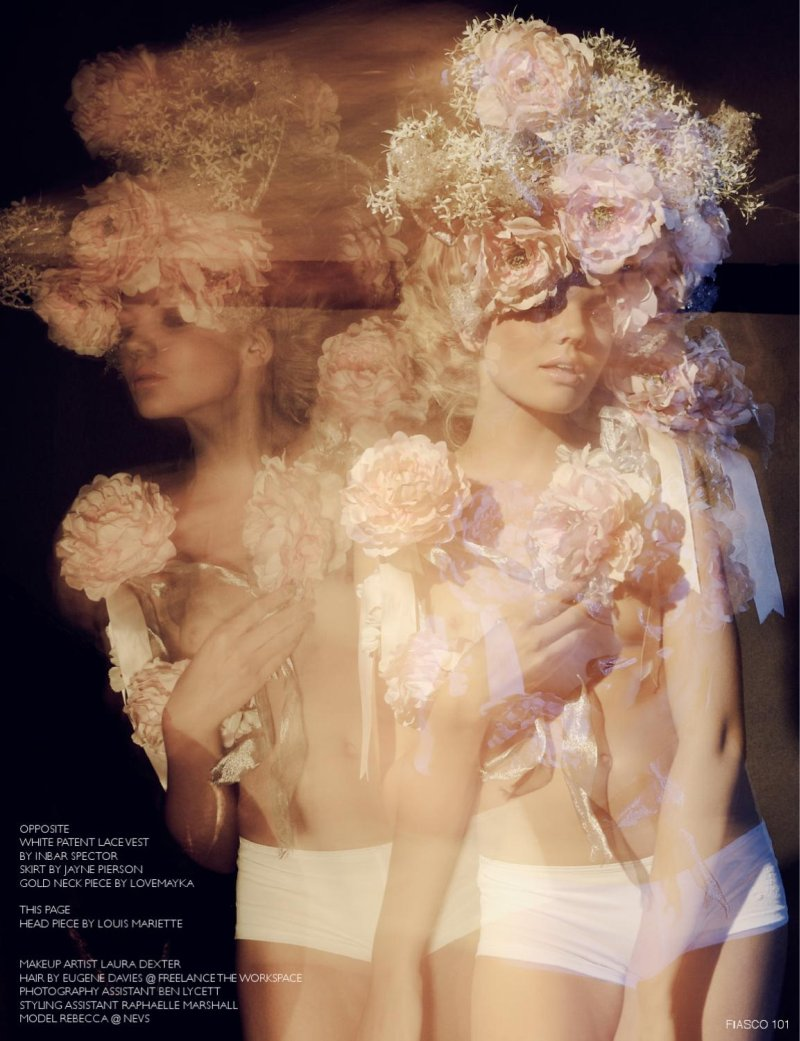 Fiasco Magazine Issue #1   Rebecca Dudley by Dave Wise