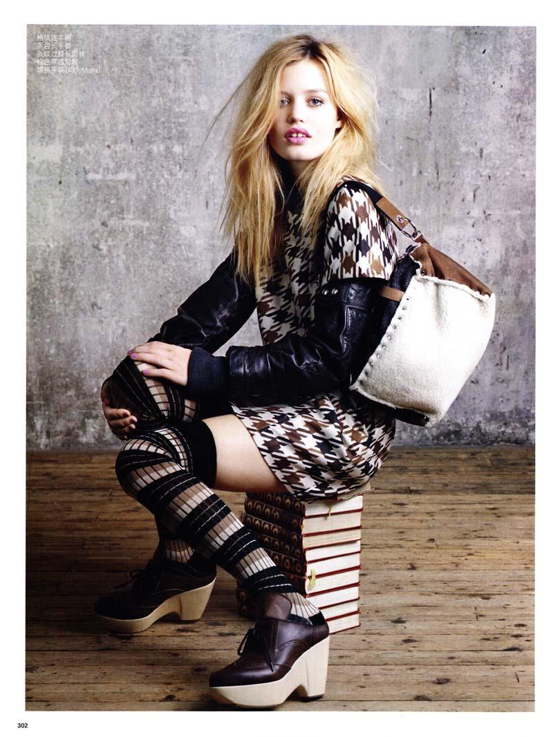 Georgia May Jagger for Vogue China July 2010 by Max Vadukul