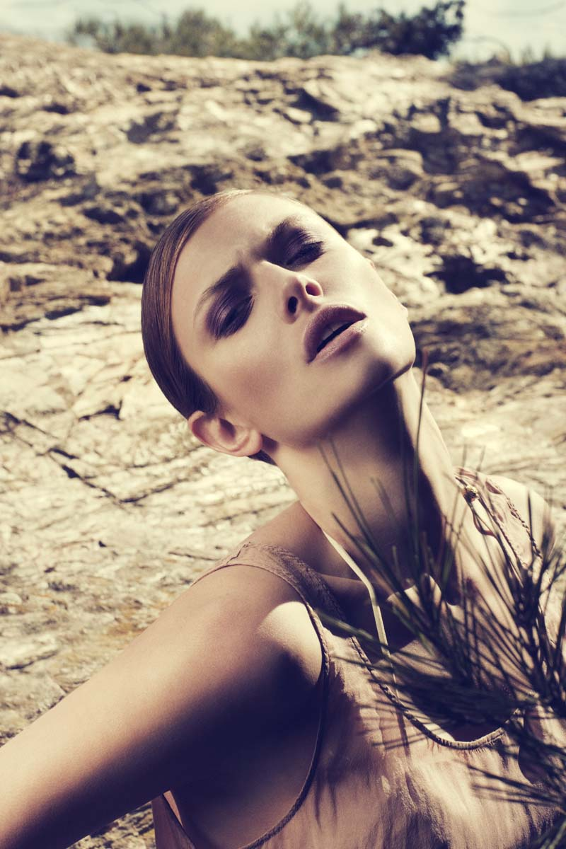 Jessica Lewis by Henry Moshizi for Costume July 2010