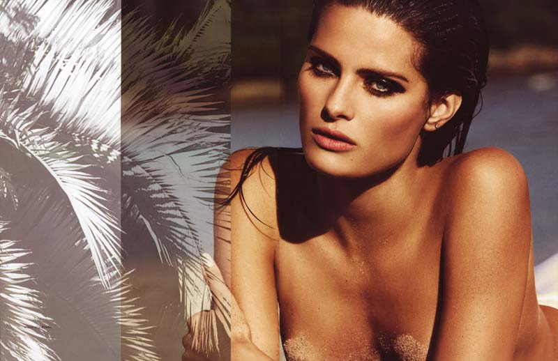 Isabeli Fontana for Muse Summer 2010 by Terry Tsiolis