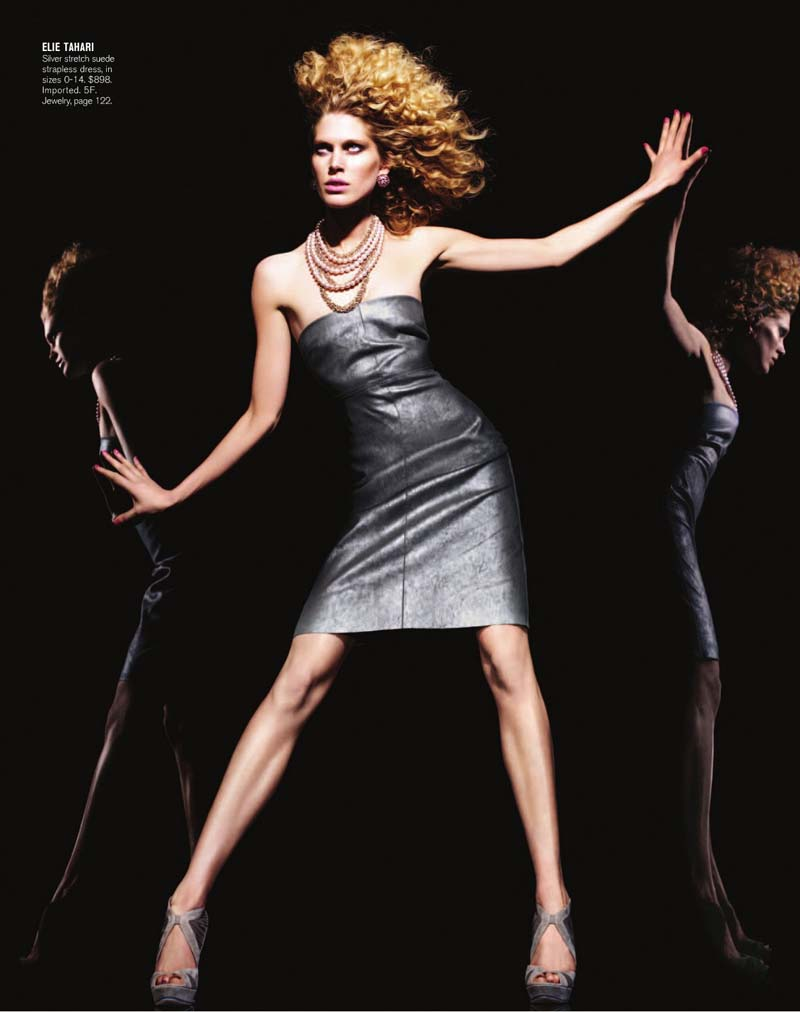 Bergdorf Goodman Pre-Fall 2010 Catalogue | Iselin Steiro by Miguel Reveriego