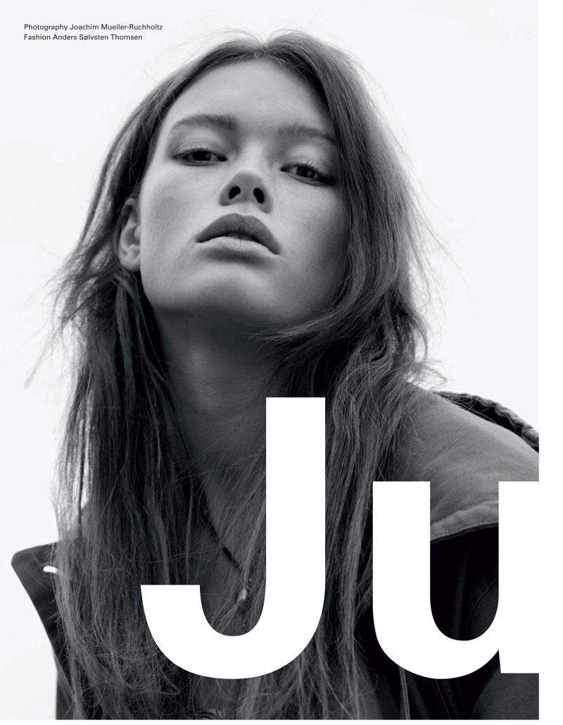 Julia Hafstrom for EXIT Spring/Summer 2010 by Joachim Mueller-Ruchholtz