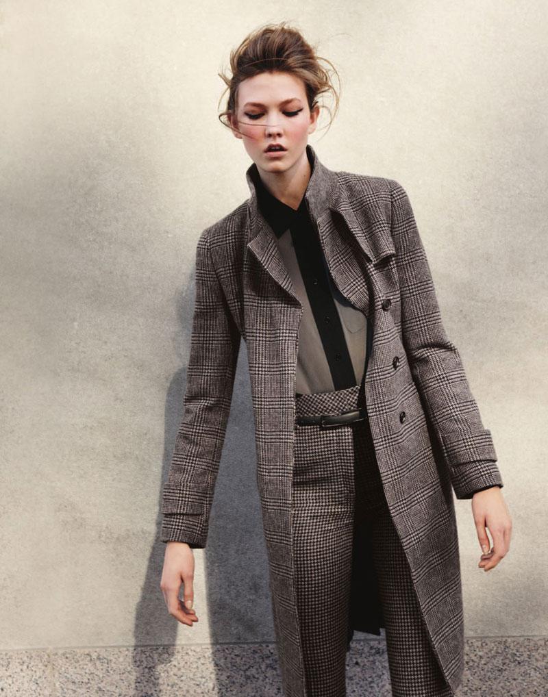 Karlie Kloss for Bergdorf Goodman Pre-Fall 2010 Catalogue by Yelena Yemchuk