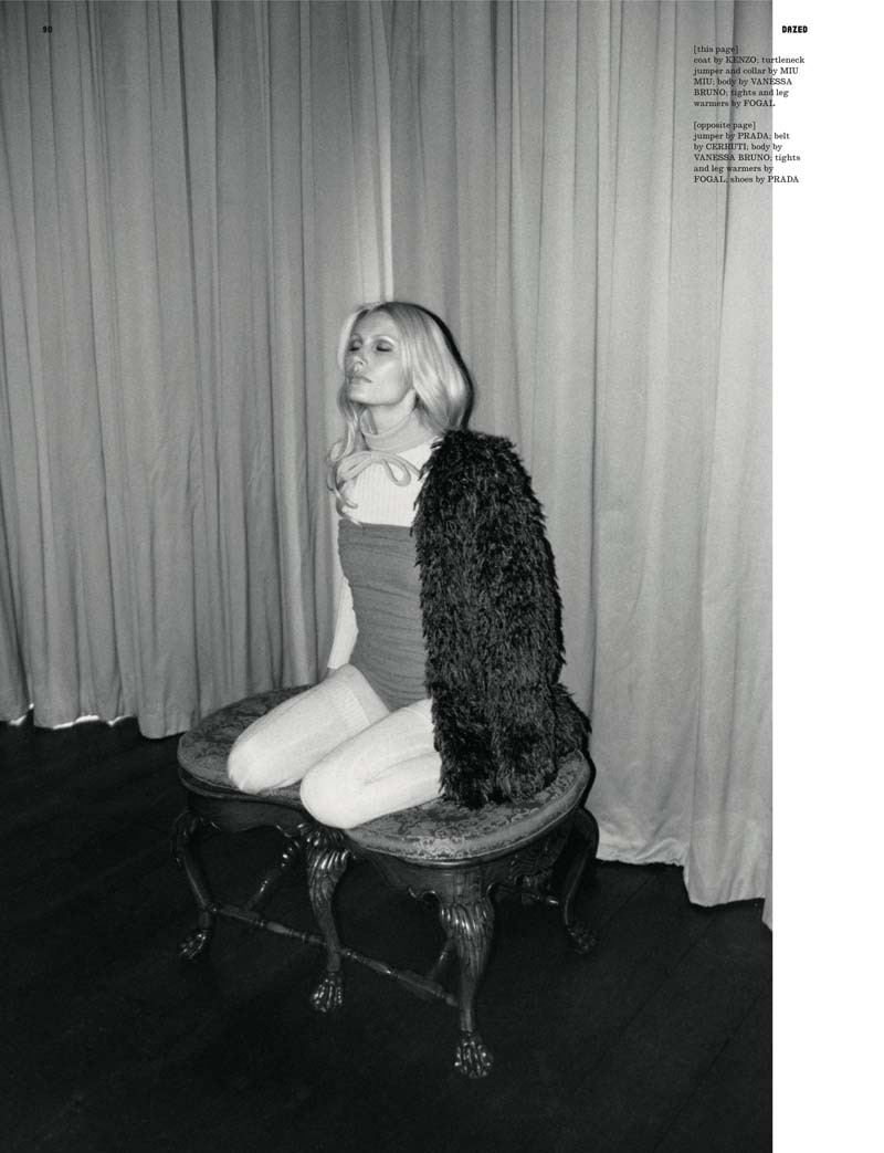 Kirsty Hume by Lina Scheynius for Dazed & Confused July 2010
