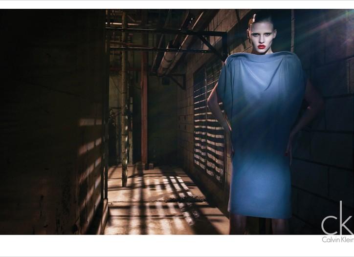 Calvin Klein Fall 2010 Campaign Previews | Lara Stone by Mert & Marcus
