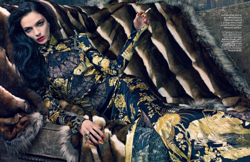 Mariacarla Boscono for Vogue Russia July 2010 by Sharif Hamza