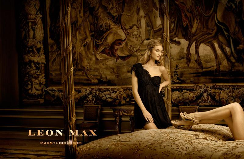 Leon Max Fall 2010 Campaign | Rosie Huntington-Whiteley by Phillip Dixon