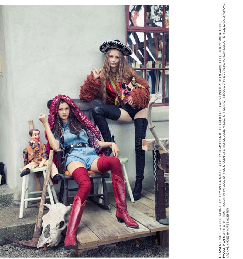 Ella & Imogen by Karen Inderbitzen-Waller for No. Magazine Issue #10