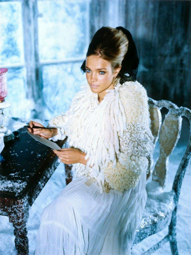 Morning Beauty   Natalia Vodianova by Ellen von Unwerth