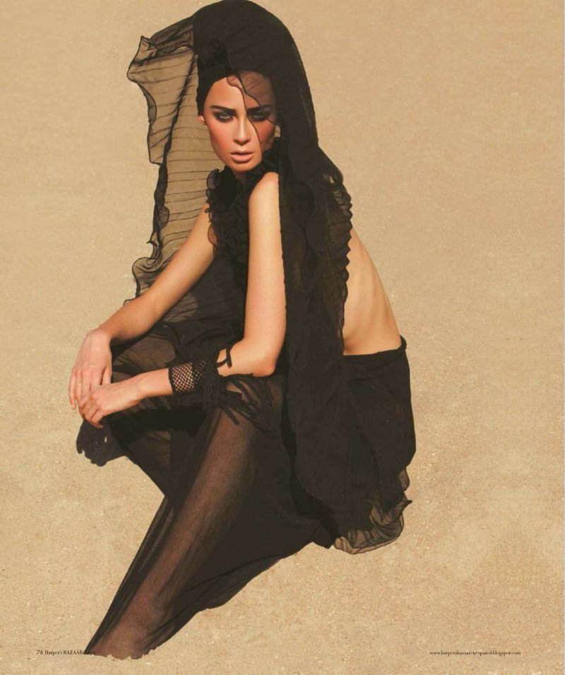 Tiiu Kuik by Alexander Neumann for Harper's Bazaar Mexico June 2010
