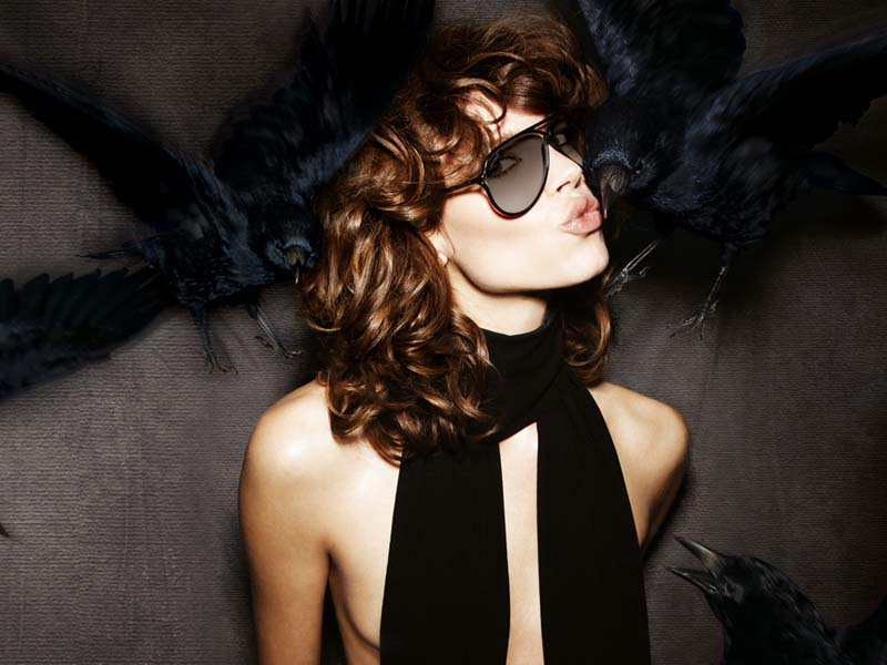 Tom Ford Eyewear Fall 2010 Campaign | Freja Beha Erichsen by Tom Ford