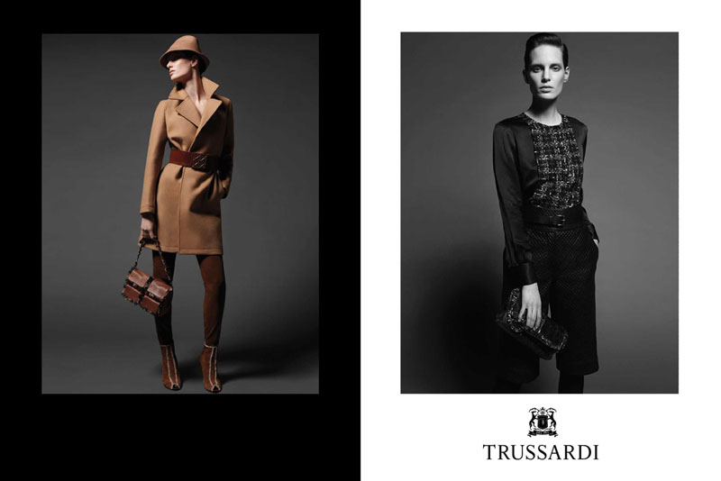 Trussardi 1911 Fall 2010 Campaign Preview | Iris Strubegger by Milan Vukmirovic