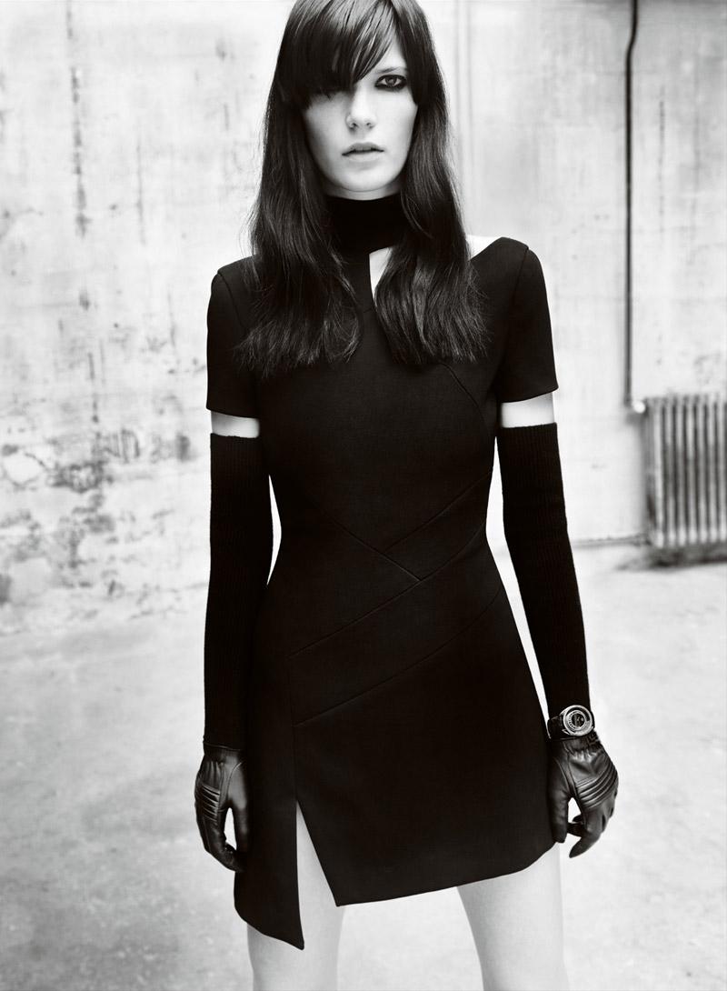 Versace Fall 2010 Campaign | Iselin, Anna & Valerija by Mario Testino
