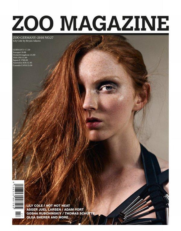 Zoo Magazine Summer 2010 Covers | Olga Sherer & Lily Cole
