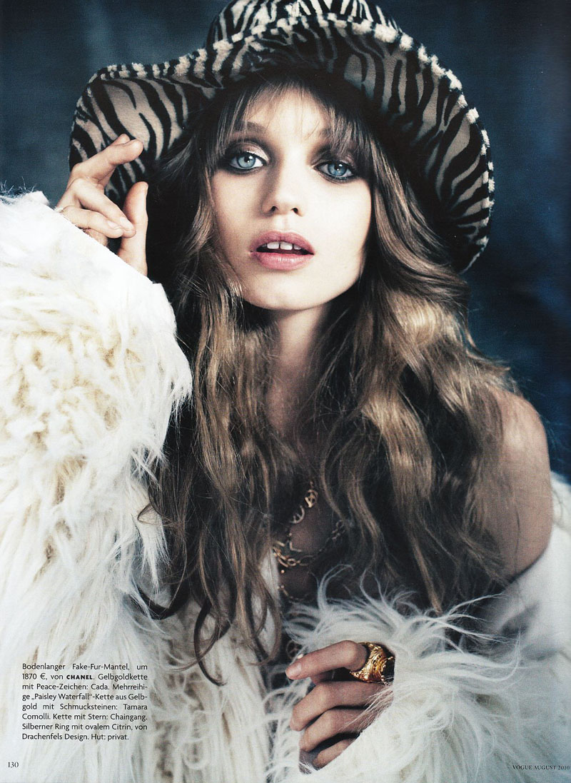 Abbey Lee Kershaw for Vogue Germany August 2010 by Alexi Lubomirski