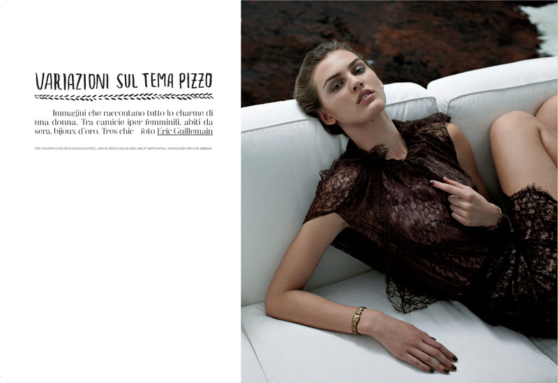 Ali Stephens by Eric Guillemain for Flair August 2010