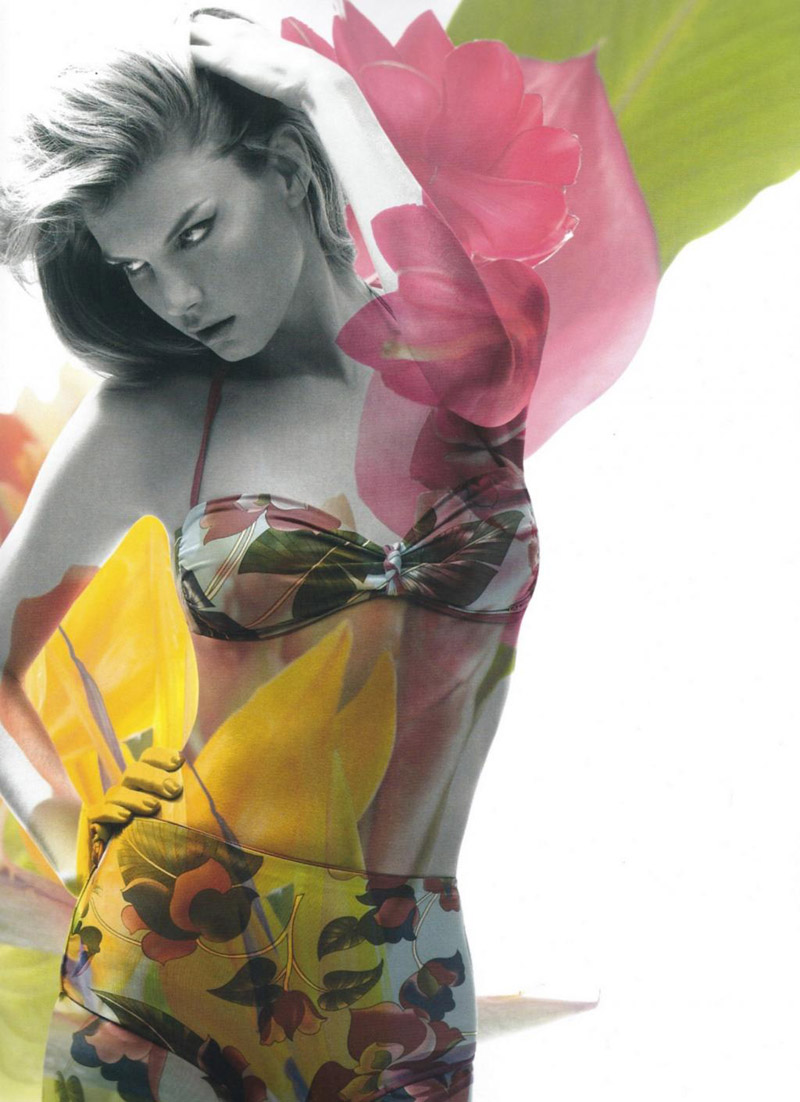 Angela Lindvall by Sølve Sundsbø for Muse Summer 2010
