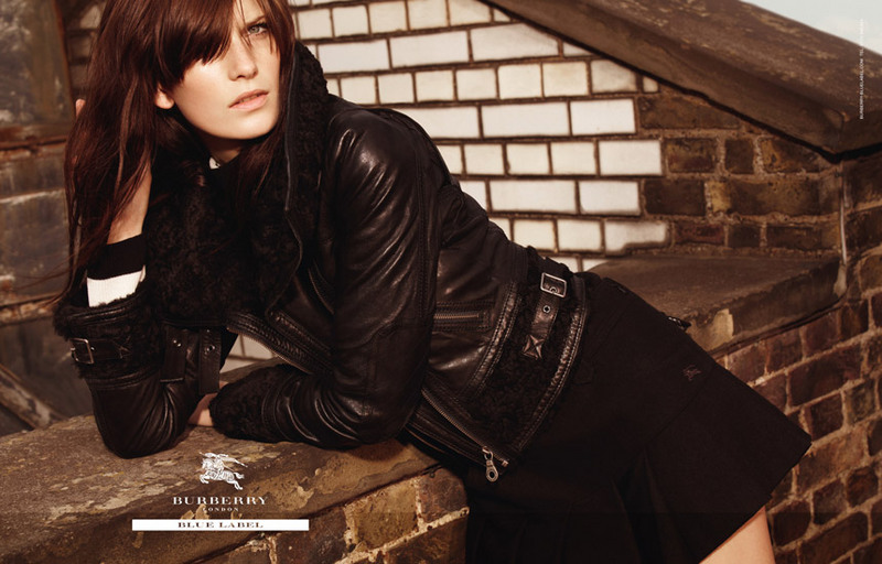 Burberry Blue Label Fall 2010 Campaign | Valerija Kelava