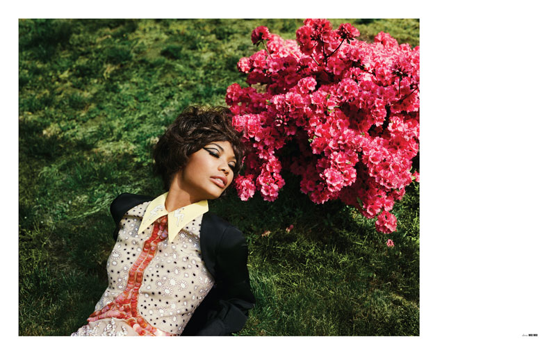 Chanel Iman for The Block Summer 2010 by Doug Inglish